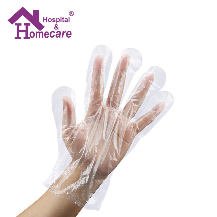 Disposable Surgical Medical PE Gloves (MW212) pictures & photos