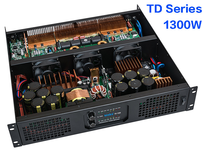 Td Series Professional SMPS Power Amplifier 1300W (TD-1300I)