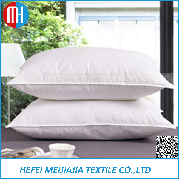 China Wholesale 40 Cotton DuckGosoe Feather Down CushionsPillows Simple Down Feather Pillow Inserts Wholesale