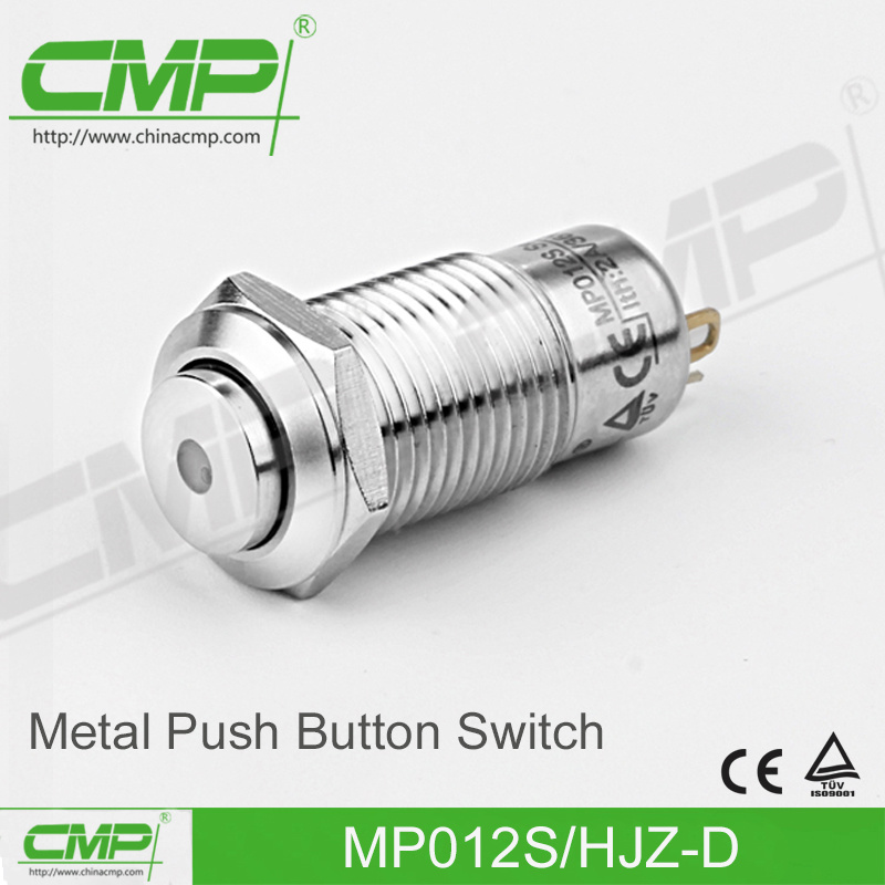 12mm Metal Push Button Switch (CE TUV)