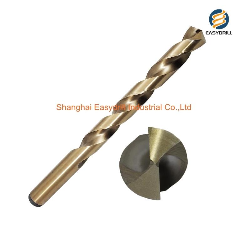 Rolled Ground TIN High Quality Cobalt Professional HSS Jobber Drill Bit