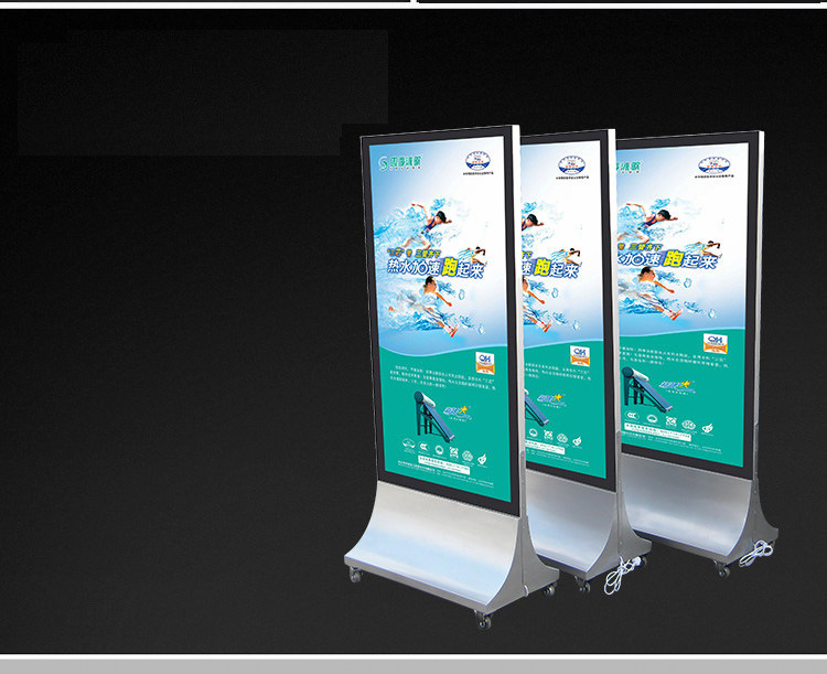 Movable Advertising Lightbox Displays Free Stand LED Light Box