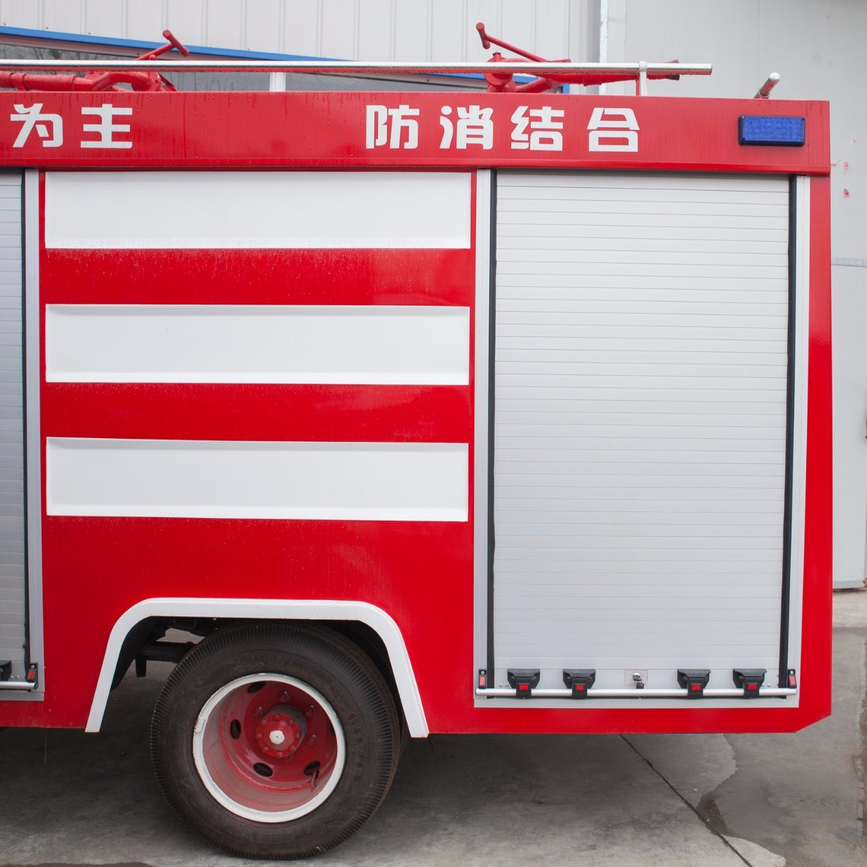 Aluminum Alloy Fire Shutter for Fire Truck