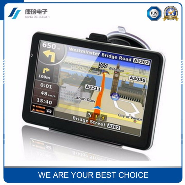 7-Inch High-Definition Car GPS Navigation Dual-Core 8GB Memory GPS Car Navigation Professional Export
