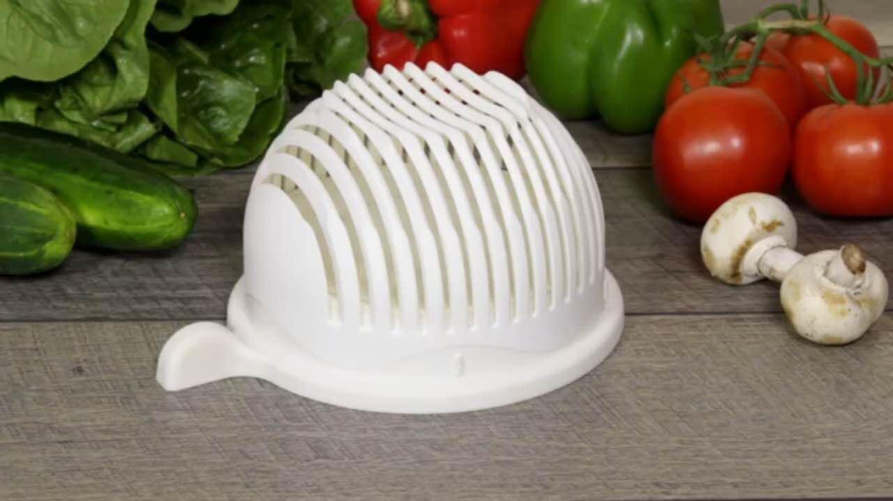 China Vegetable Salad Slicer Cutter Bowl Plastic Creative Salad ...