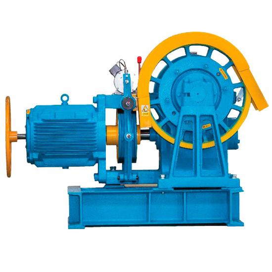 [Hot Item] Size & Parameter of Yj200 Geared Machine Elevator Traction Motor
