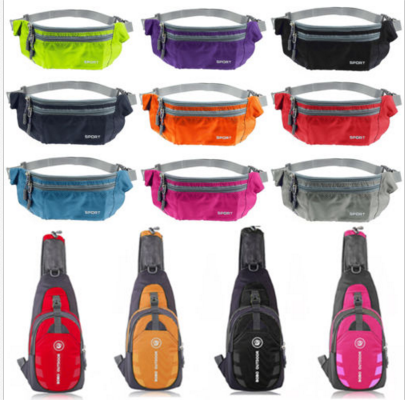 Men Women Nylon Small Chest Bag Outdoor Sport Travel Shoulder Bag Sling  Backpack e32673aa830b5