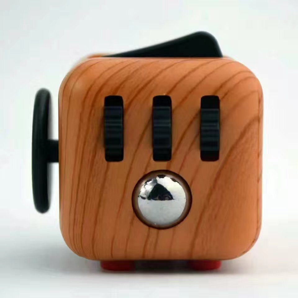 Color Printing Fidget Cubes Relieves Stress and Anxiety for Children and Adults pictures & photos