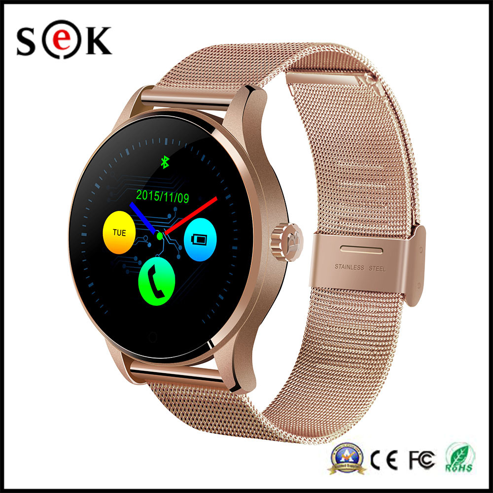 1.22 Inch IPS Round Screen Smart Watch with Heart Rate Monitor