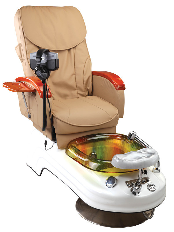 Body Massage Pedicure Chair with White Base (MY-Z2001)