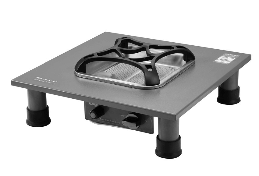 Ceramic Gas Grill with Bakeplate Table Top Jn2.8-Bkh16A pictures & photos