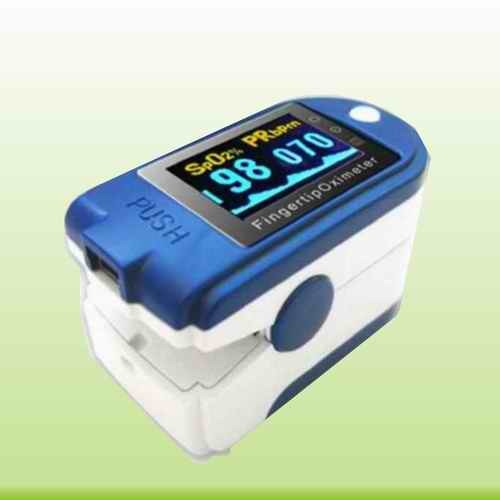 CE&FDA-Approved Color OLED Finger Pulse Oximeter--with USB (SM-X01)