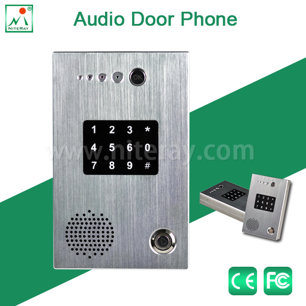 China Waterproof Sip Door Phone Keypad Door Lock Door Access Control