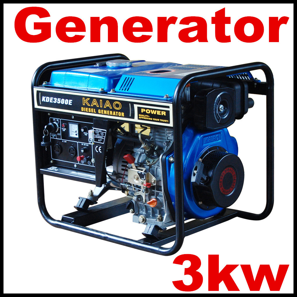 China Best Price 100 Copper Wire 3kw Generator Portable For Home Wiring In A Together With Use Diesel