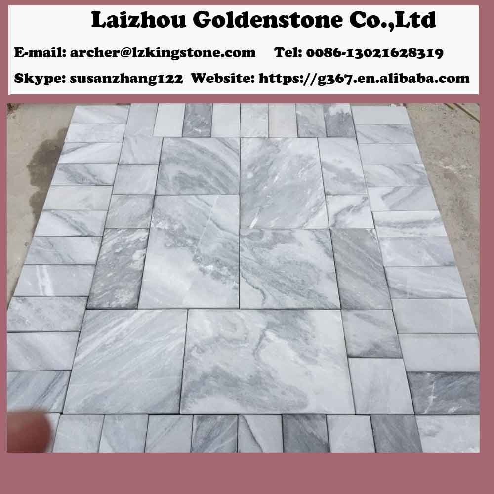 Customize China Cloudy Grey Marble Cut to Size Tiles with Different ...