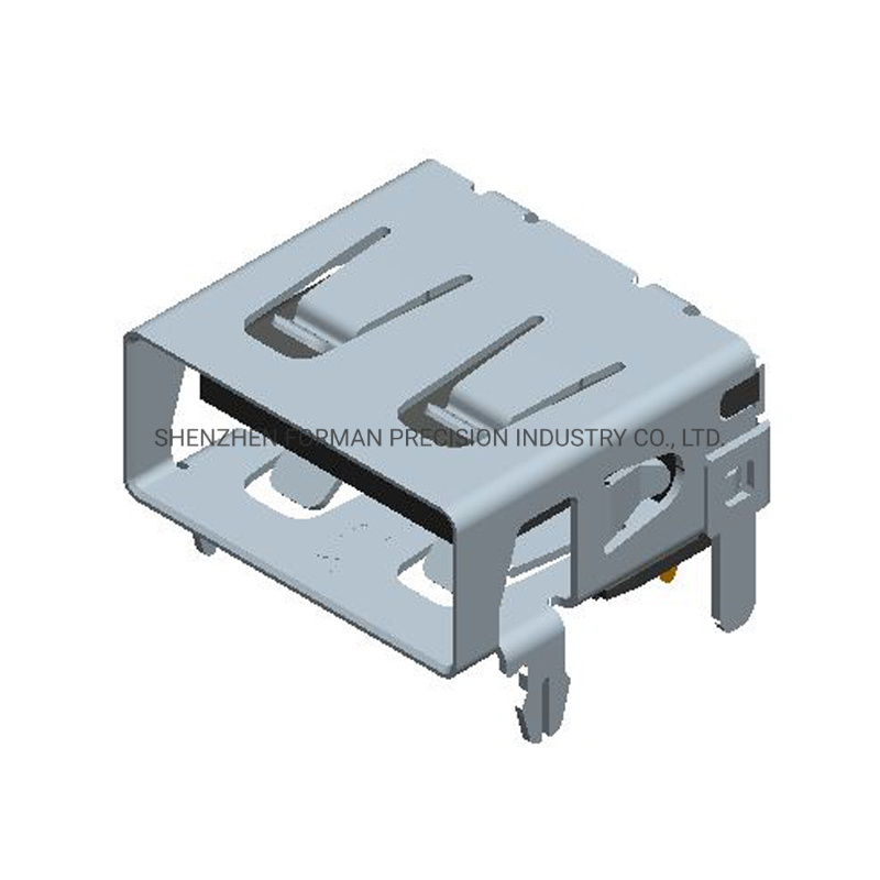 Svhc European Union Standard Component Electronical Socket USB Version 2.0 Connector 4 Pin PCB Spare Parts pictures & photos