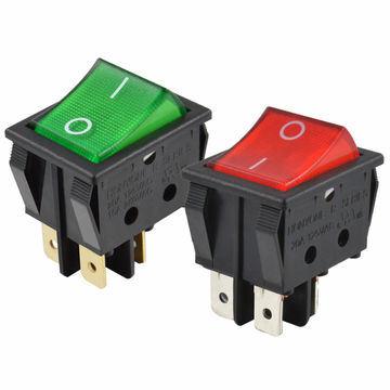China Honyone Ul Rocker Switch 20a, Illuminated Rocker Switch Wiring