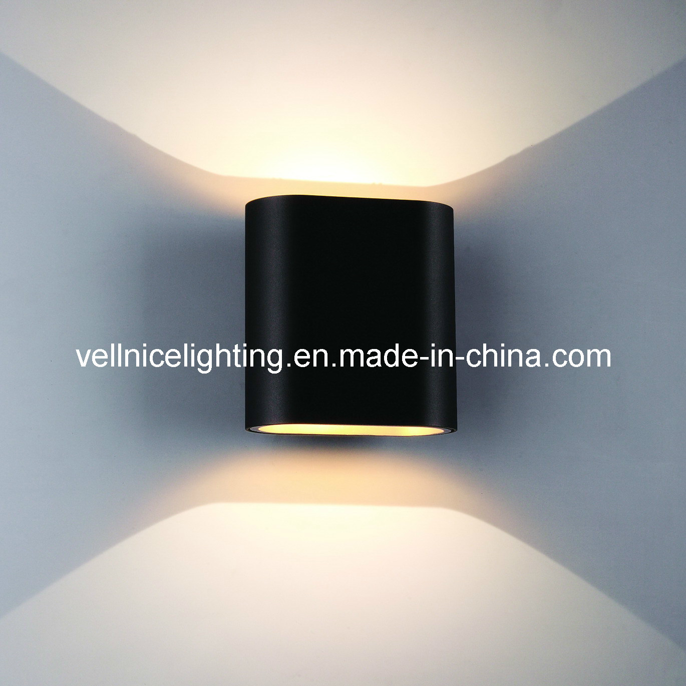 Hot item unique design 23w up down cob led wall lights for indoor w3a0074