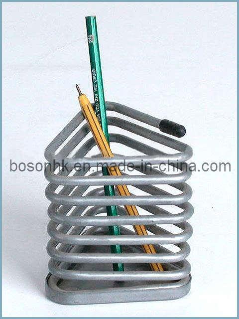 China Three-Cornered Metal Pencil Holder - China ...