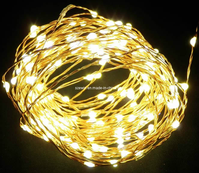 China Yellow Led Copper Wire Nest Lights Led Christmas Lights China Led Christmas Light Led String Light