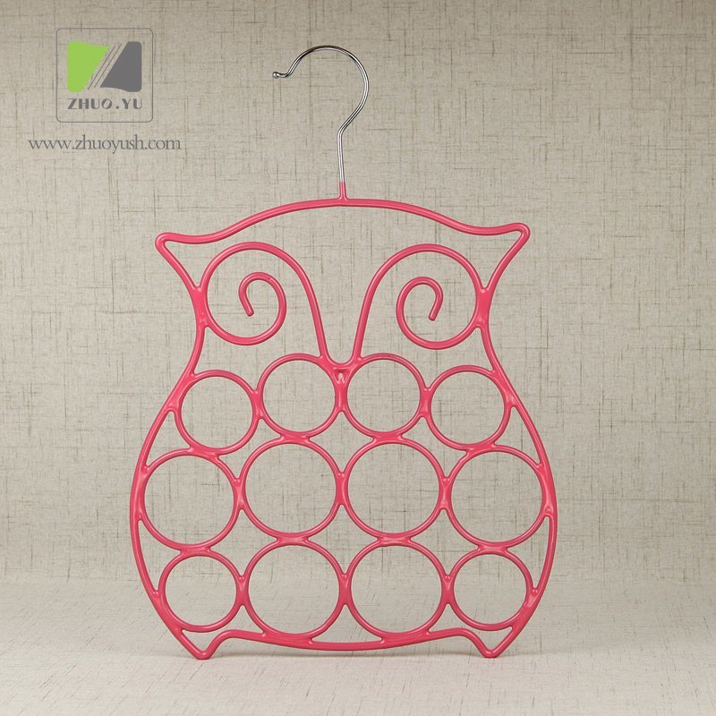 China PVC Coated Metal Wire Towel Rack / Scarf Hanger Photos ...