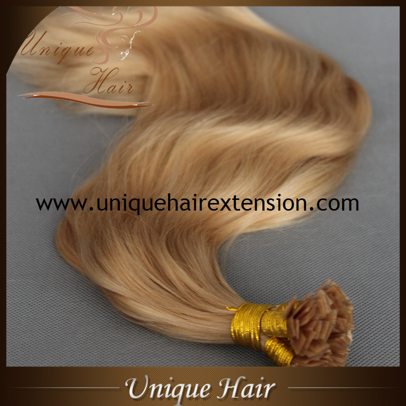 China Wholesale Price Russian Remy Flat Tip Hair Extensions China