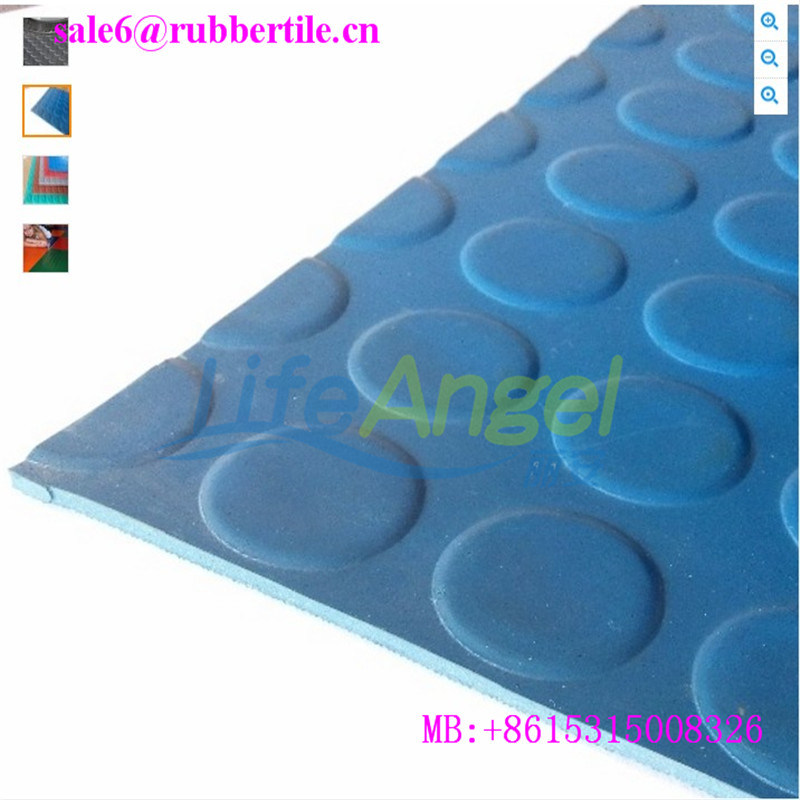 Commercial Hospital Rubber Flooring, Waterproof Anti-Slip Floor pictures & photos