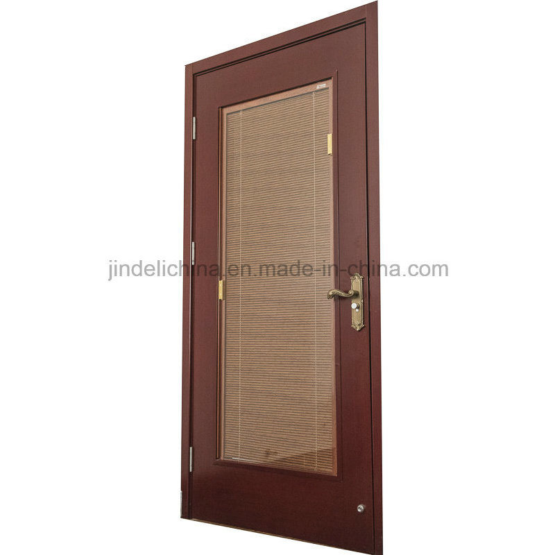 China Interior Double Glazed Windows Doors With Internal Blinds