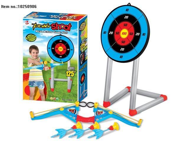 Plastic Playset Toy of Bow and Arrow Sport Toy pictures & photos