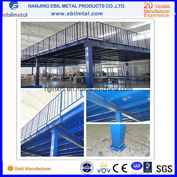 Warehouse Steel Platform for Multi-Layer Storage (EBILMETAL-SP) pictures & photos