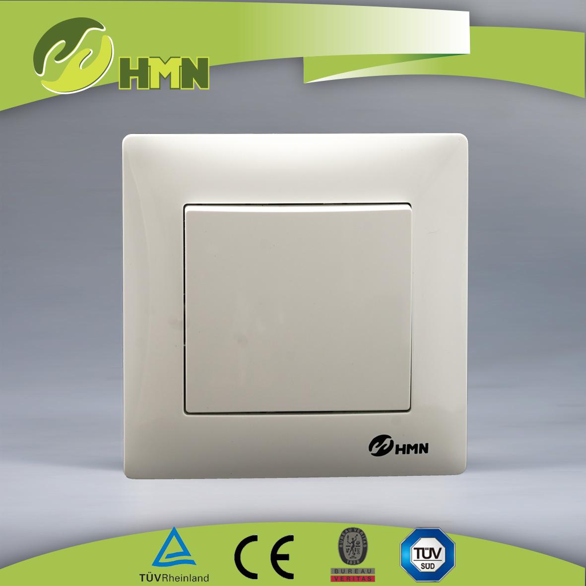 China Wall Switch PC White V Series Intermediate Switch Manufacturer ...