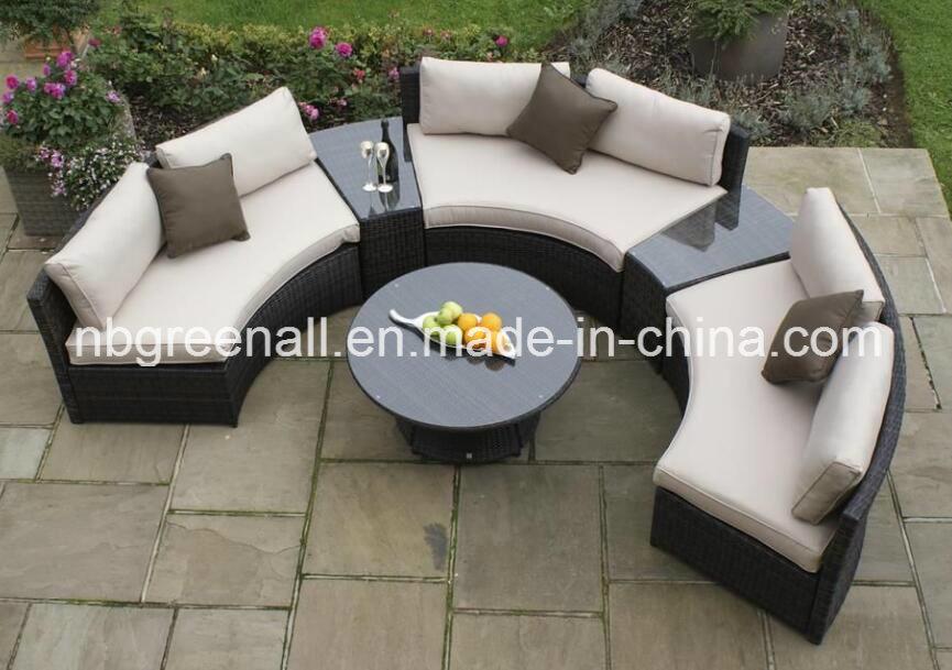 China New Half Moon Round Outdoor Hotel, Half Circle Patio Furniture
