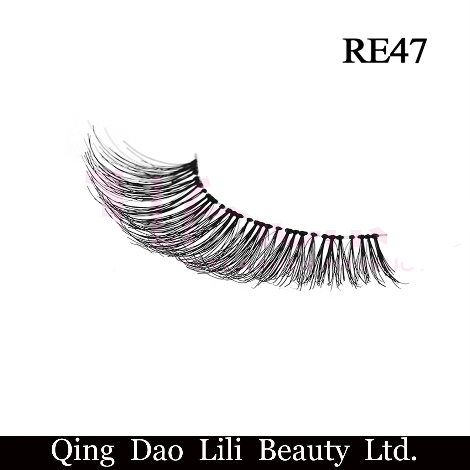 China 100 Remy Hair Lashes Private Label Eyelash Package Wispy