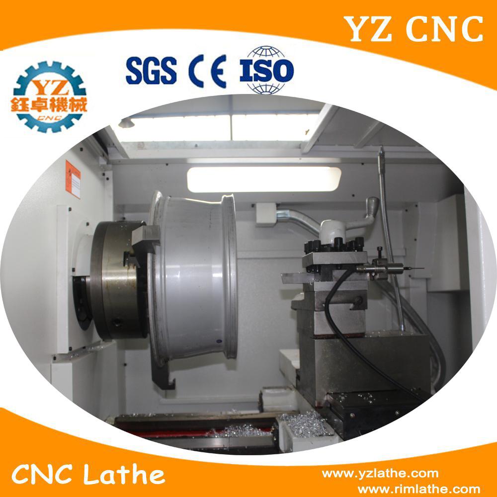 China Wheel Polishing CNC Lathe Machine with Renisha Probe Photos ...