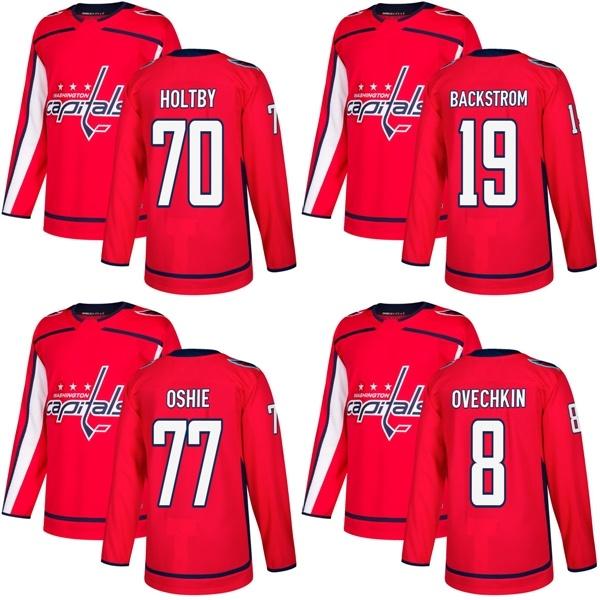 brand new 4904d 64ca5 [Hot Item] Washington Capitals T. J. Oshie Alex Ovechkin Braden Holtby  Hockey Jerseys