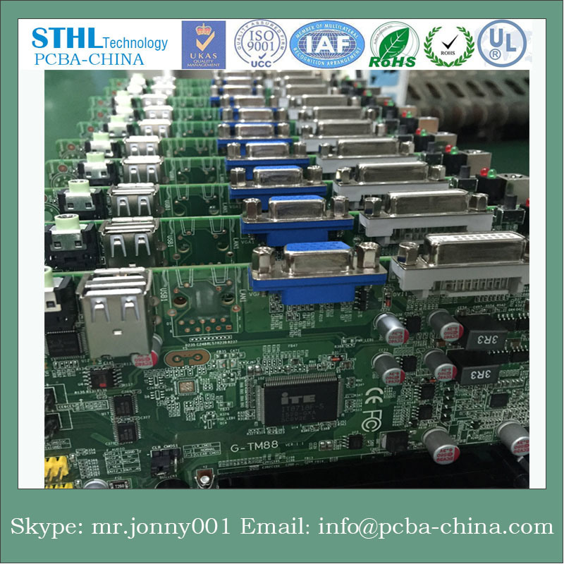 Customized Hard Gold PCB with Board Edge Plated pictures & photos