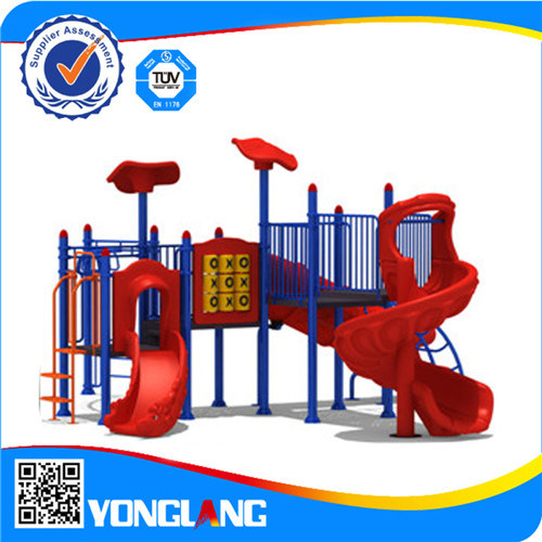 High Quality Kates Commercial Outdoor School Playground Slide Equipment Yl72454