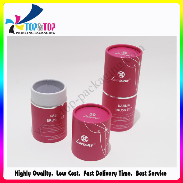 OEM Design Sliver Stamping Cylinder Paper Box Shenzhen Package Printing pictures & photos
