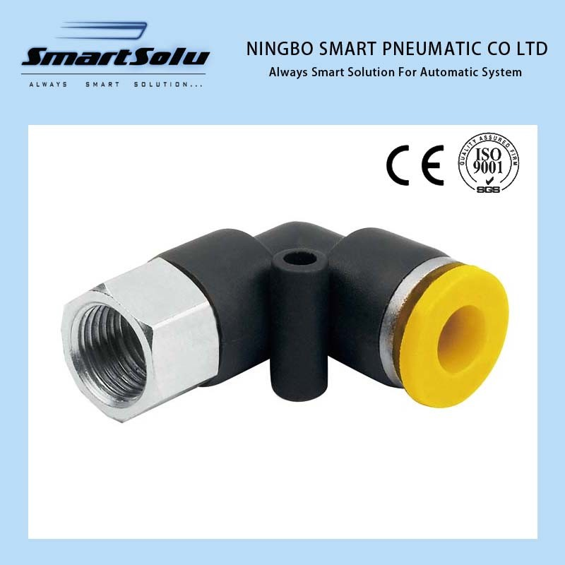 Ningbo Smart 100% Tested Plastic Metal Pneumatic Fittings pictures & photos