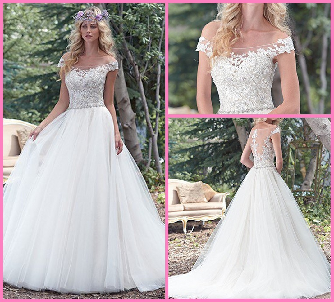 Plus Size Wedding Ball Gowns: China Tulle Bridal Ball Gowns Beads Lace Off Shoulder Plus