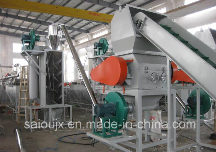 Milk Bottle HDPE Plastic Bottle Washing Recycling Line