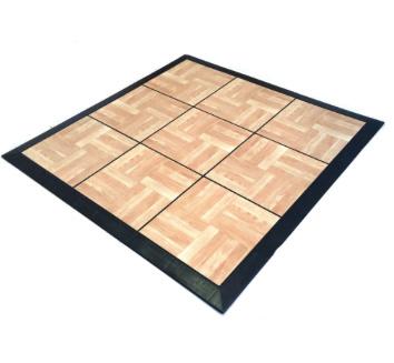 Wooden Snap Dance Floor Tile