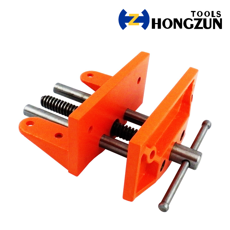 China Portable Type Woodworking Vise Without Table Clamp China