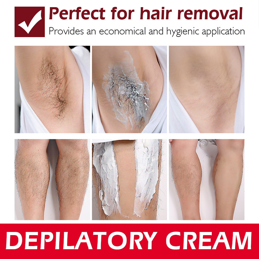 China Vibrant Glamour Hair Removal Cream Painless Depilatory Cream
