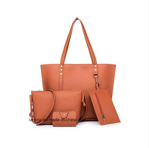 2018 Fashion Leather 4 Pieces Shoulder Bag Set Ladies Bags Handbag for  Wholesale. Get Latest Price 2fd74c1ae50ca