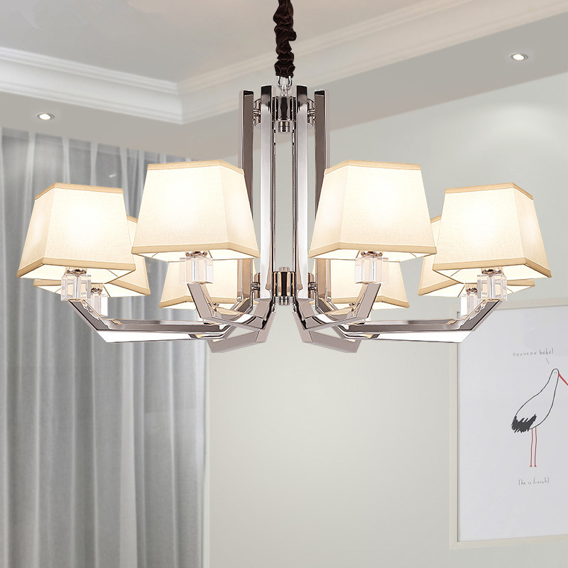 China Cool Modern Metal Chandeliers For