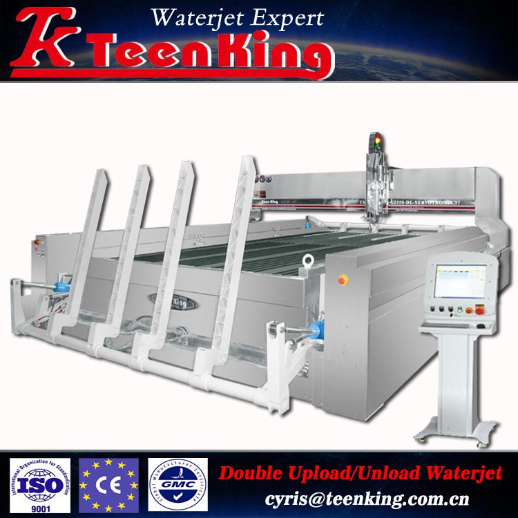 High Accuracy 5 Axis Cnc A Sive Waterjet Cutting Machine