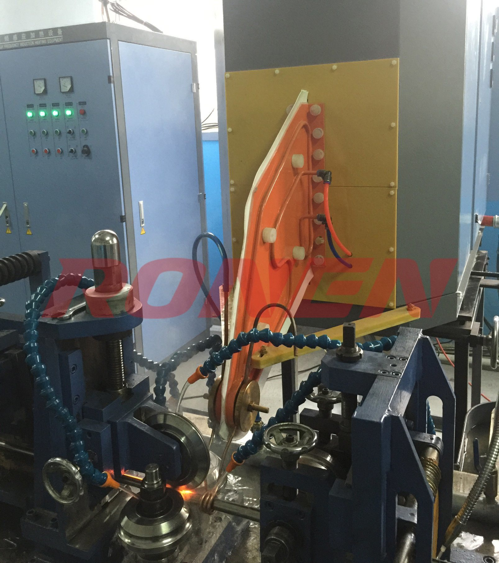 China Pakistan Customized Erw Steel Pipe High Frequency Welder Equipment Line Made In China Photos Pictures Made In China Com