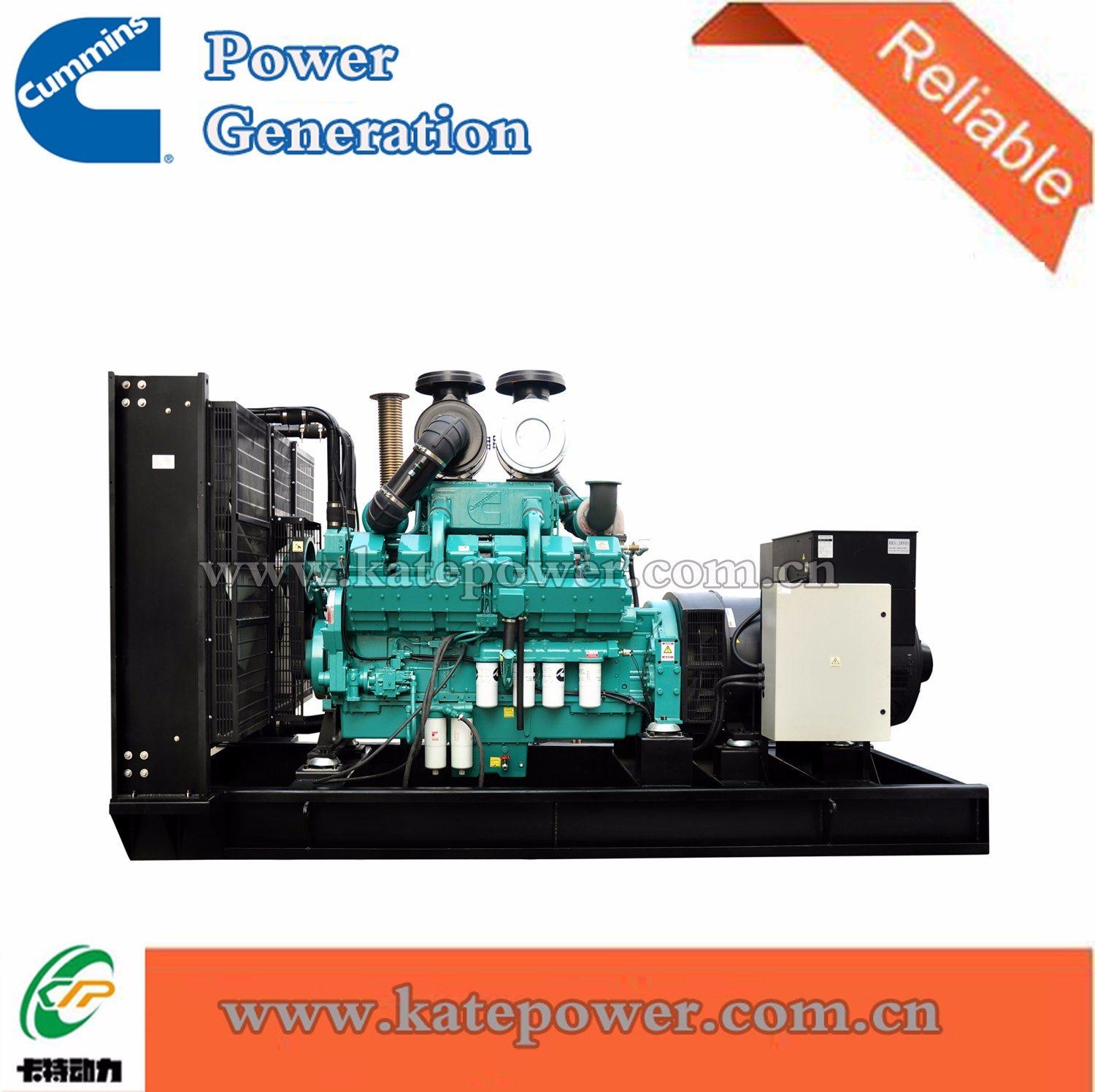China 1000kw/1250kVA Open Type Diesel Generator Set with Cummins Engine  Kta50-G3 - China Cummins Generator, Cummins Diesel Generator