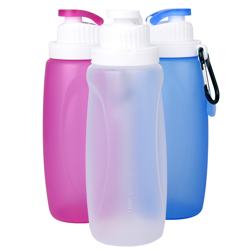 China 320ml Cheapest Food Grade Silicone BPA Free Reusable Water Bottle for  Kids - China Travel Water Bottle and School Water Bottle price